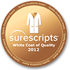 2012 Surescripts White Coat of Quality Award for 2012